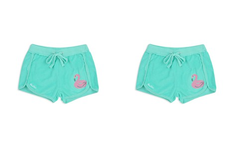 Butter Girls' Flamingo Terry Shorts - Little Kid - Bloomingdale's_2