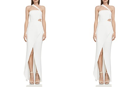 BCBGMAXAZRIA One-Shoulder Cutout Gown - 100% Exclusive - Bloomingdale's_2