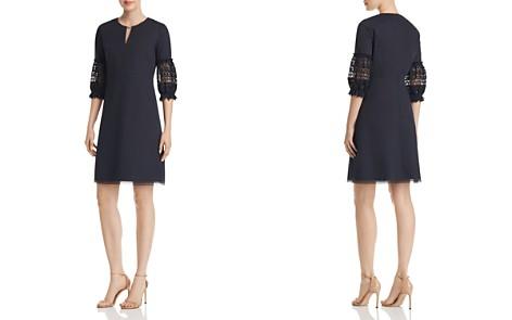 Elie Tahari Ari Lace-Sleeve Dress - Bloomingdale's_2