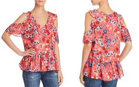 Parker Dedra Floral Cold-Shoulder Top - Bloomingdale's_2