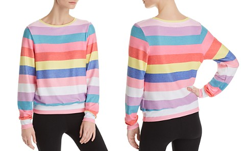 WILDFOX Castaway Striped Sweatshirt - Bloomingdale's_2