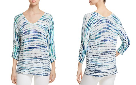 NIC+ZOE High Point Ombre Dot Top - Bloomingdale's_2