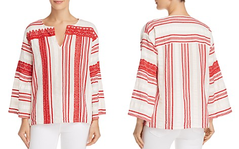 Joie Selbea Striped Tunic Top - Bloomingdale's_2
