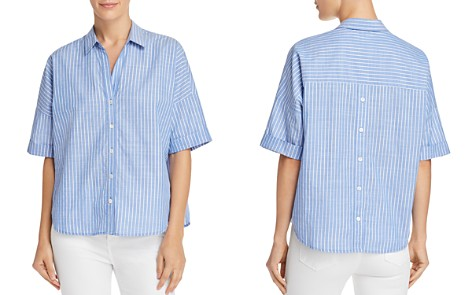 Joie Selsie Striped Shirt - Bloomingdale's_2