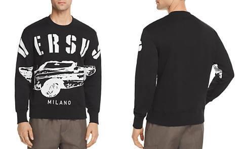 Versus Versace Car Logo Crewneck Sweatshirt - Bloomingdale's_2