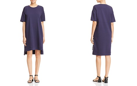 Eileen Fisher Petites Step-Hem Tee Dress - Bloomingdale's_2