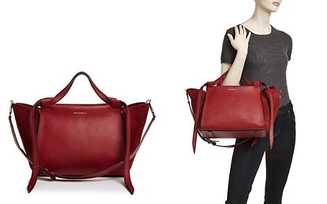 ELENA GHISELLINI Usonia Medium Leather & Suede Satchel - Bloomingdale's_2