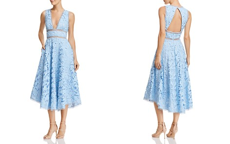SAU LEE Abigail Lace Midi Dress - Bloomingdale's_2