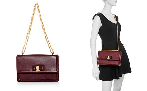 Salvatore Ferragamo Ginny Medium Leather Shoulder Bag - Bloomingdale's_2