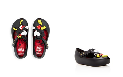 Mini Melissa Girls' Mini Ultragirl + Disney Mary Jane Flats - Walker, Toddler - Bloomingdale's_2
