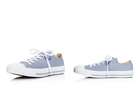 Converse Women's Chuck Taylor All Star Ox Perforated Canvas Low Top Lace Up Sneakers - Bloomingdale's_2