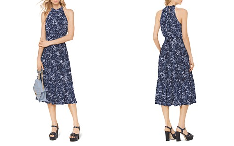 MICHAEL Michael Kors Floral-Print Midi Dress - Bloomingdale's_2