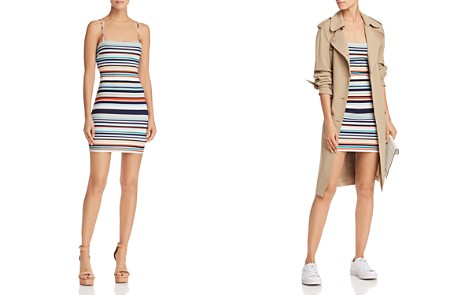 Sunset + Spring Striped Mini Dress - 100% Exclusive - Bloomingdale's_2