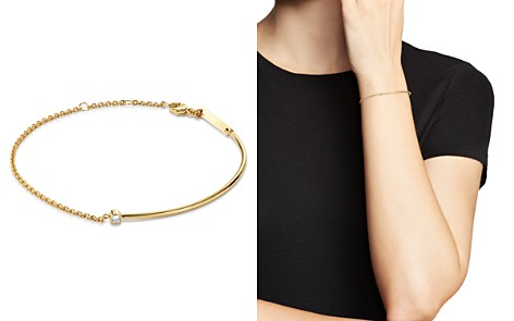 Zoë Chicco 14K Yellow Gold Wire & Chain Diamond Bracelet - Bloomingdale's_2