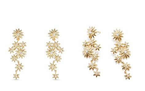 David Yurman Starburst Constellation Drop Earrings in 18K Gold with Diamonds - Bloomingdale's_2