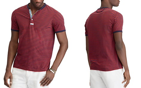 Polo Ralph Lauren Striped Custom Slim Fit Henley - Bloomingdale's_2