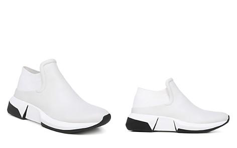 Via Spiga Women's Veila Leather & Knit Slip-On Sneakers - Bloomingdale's_2