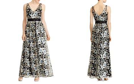 Lauren Ralph Lauren Floral Embroidered Gown - Bloomingdale's_2
