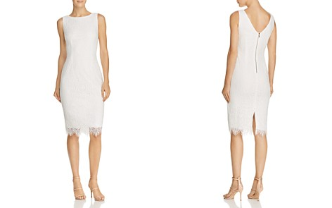 Adrianna Papell Lace Sheath Dress - Bloomingdale's_2