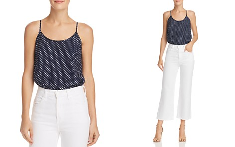 ATM Anthony Thomas Melillo Dot Silk Camisole Top - Bloomingdale's_2
