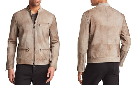 John Varvatos Collection Spray Dye Leather Moto Jacket - Bloomingdale's_2