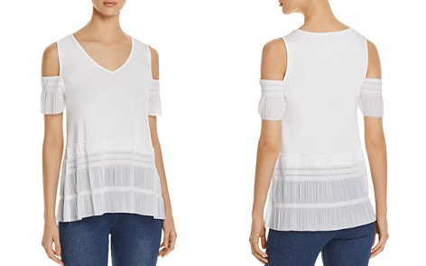 Lyssé Lacey Cold-Shoulder Top - Bloomingdale's_2