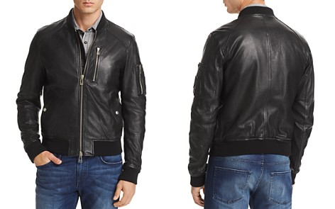 Belstaff Clenshaw Leather Bomber Jacket - Bloomingdale's_2