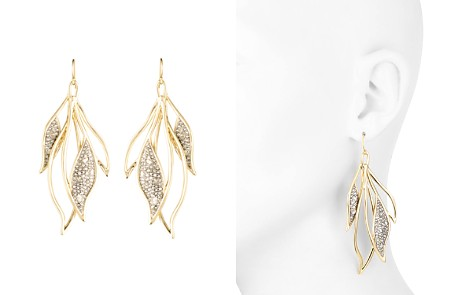Alexis Bittar Crystal Encrusted Feather Wire Earrings - Bloomingdale's_2
