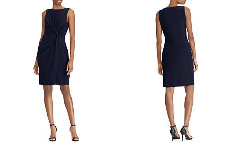 Lauren Ralph Lauren Twist-Front Sheath Dress - Bloomingdale's_2