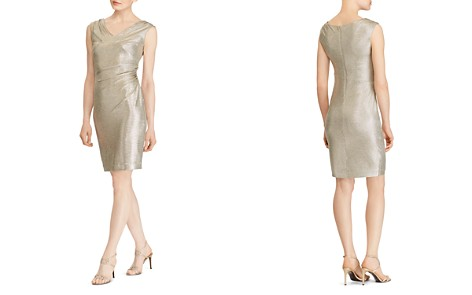 Lauren Ralph Lauren Metallic Ruched Dress - Bloomingdale's_2