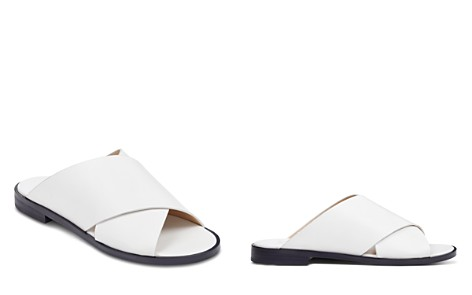 Marc Fisher LTD. Idinia Leather Slide Sandals - Bloomingdale's_2