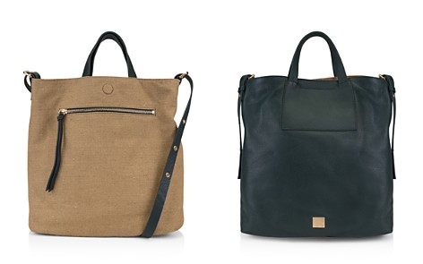 Kooba Bolivia Reversible Leather & Linen Tote - Bloomingdale's_2