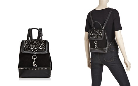 Rebecca Minkoff Bree Studded Suede & Leather Convertible Backpack - Bloomingdale's_2