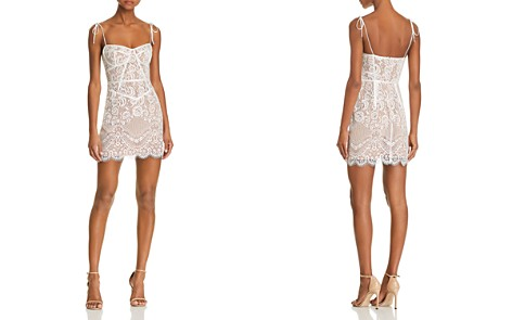 For Love & Lemons Tati Lace Corset Dress - Bloomingdale's_2