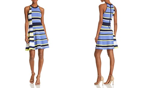 Parker Shea Fit-and-Flare Striped Knit Dress - Bloomingdale's_2