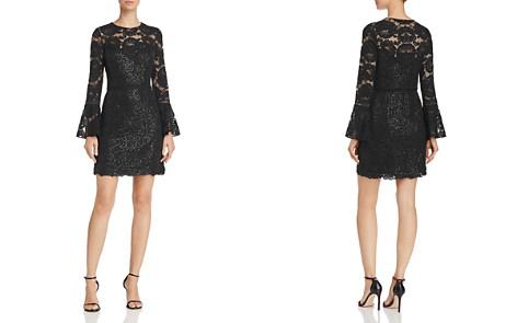 Tadashi Shoji Bell-Sleeve Lace Dress - Bloomingdale's_2