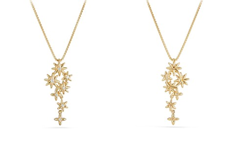 David Yurman Starburst Constellation Pendant necklace in 18K Gold with Diamonds - Bloomingdale's_2
