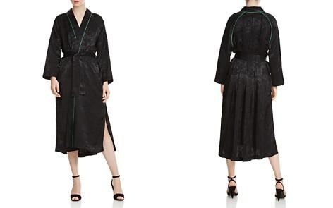 Maje Vasita Jacquard Long Kimono Jacket - Bloomingdale's_2