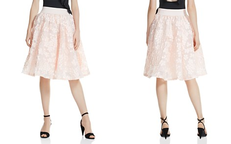 Maje Joshua Petal-Appliqué Midi Skirt - Bloomingdale's_2