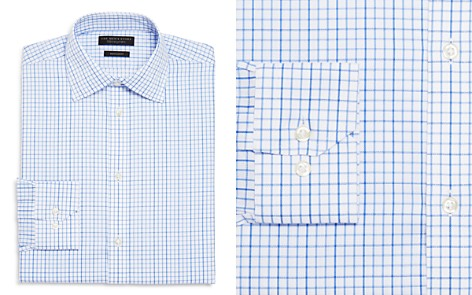 The Men's Store at Bloomingdale's Windowpane Regular Fit Dress Shirt - 100% Exclusive_2