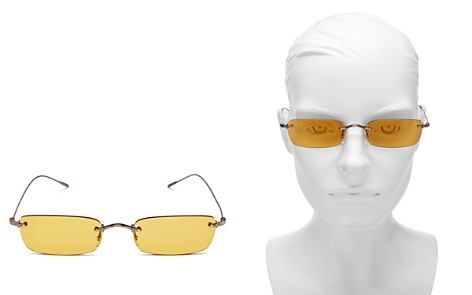 Oliver Peoples Daveigh Rectangular Sunglasses, 54mm - Bloomingdale's_2