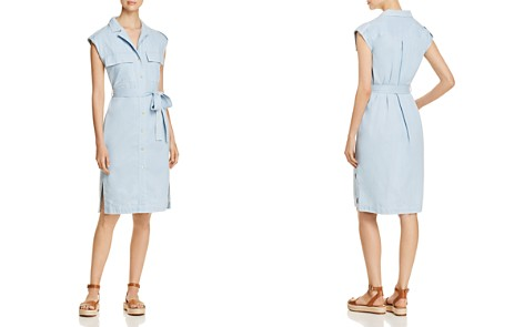 Donna Karan New York Chambray Shirt Dress - Bloomingdale's_2