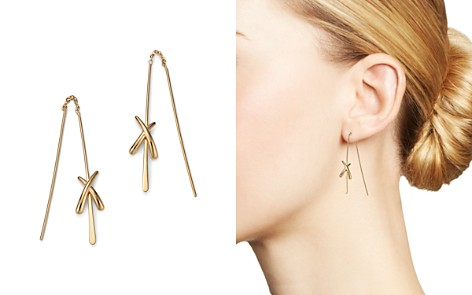 Bloomingdale's X Threader Earrings in 14K Yellow Gold - 100% Exclusive_2