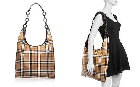 Burberry Large Vintage Check Hobo Shopper - Bloomingdale's_2