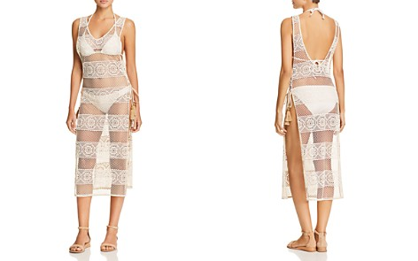 PilyQ Joy Crocheted Lace Dress Swim Cover-Up - Bloomingdale's_2