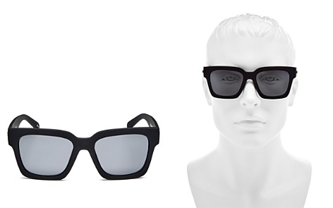 Le Specs Polarized Square Sunglasses, 55mm - Bloomingdale's_2