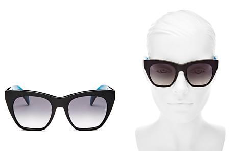 rag & bone Women's Cat Eye Sunglasses, 52mm - Bloomingdale's_2