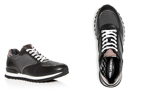 KARL LAGERFELD Men's Leather Lace Up Sneakers - Bloomingdale's_2