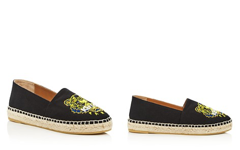Kenzo Women's Classic Tiger Embroidered Espadrille Flats - Bloomingdale's_2