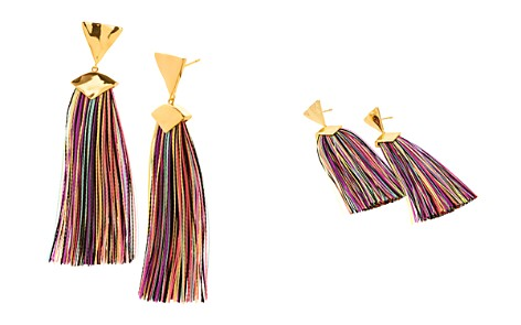 Gorjana Havana Triangle Tassel Earrings - Bloomingdale's_2
